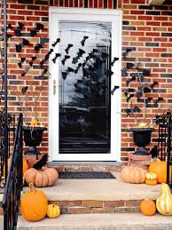 Halloween Flying Bats Quick And Easy Halloween Front Porch Update Hgtv