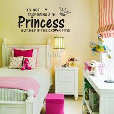 it s not easy being a princess vinyl wall lettering stickers it s not easy being a princess vinyl wall lettering stickers quotes and sayings home art decor decal reusable wall stickers room decals from flylife