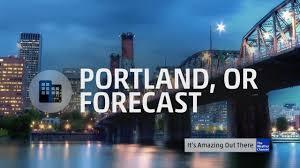 Portland Oregon Traffic Map by Portland Oregon U0027s 60 Second Forecast The Weather Channel