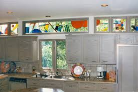 gallery from kitchens to bathrooms stained glass kitchen bathroom windows painted light stained glass
