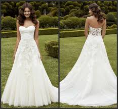 wedding dress online uk simply a line wedding dresses strapless sweetheart neckline lace