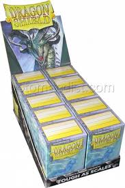 dragon shield std deck prot matte clear box potomac distribution
