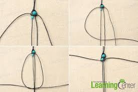 how to make a best friend bracelet out of string and turquoise