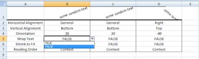 excel vba set cell alignment properties sample code download