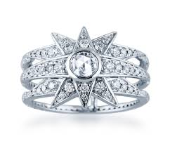 rings with initials jade jagger stellar white gold dia rings initials la