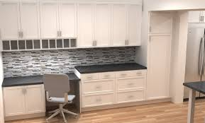 with peninsula black cabinets granite countertops design ideas