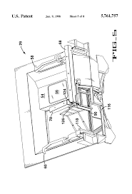 patent us5761757 passenger boarding bridge for servicing
