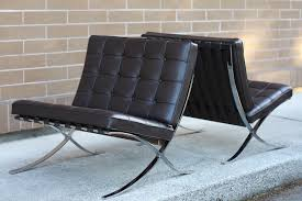 The Barcelona Chair Authentic Mies Van Der Rohe For Knoll Barcelona Chairs U2014 Mid And Mod