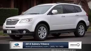 Subaru 3rd Row Seating Tribeca 2014 Subaru Tribeca Review In Denver Youtube