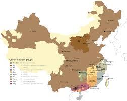 A Map Of China by Language Atlas Of China Wikipedia