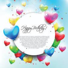 happy birthday balloon free happy birthday balloons vector free vector 5 823