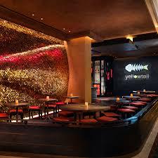 authentic japanese restaurant interior design of yellowtail las