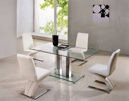 dining tables amazing contemporary glass dining tables glass