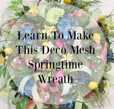 springtime wreaths 12 best deco mesh springtime wreath images on pinterest deco