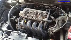 toyota 1nz fe engine view youtube