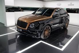 white gold bentley tuned bentley bentayga in exclusive shadow gold not for the faint
