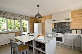 cuisine en naturelle cuisine naturelle gris et bois