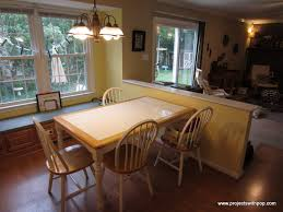 Kids Kitchen Table by Two Kids Refinishing A Kitchen Table U2013 Projectswithpop