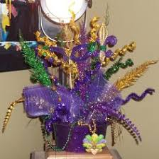 elegant mardi gras table centerpieces event gallery exposition