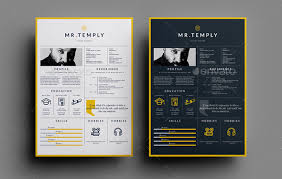 Resume Templates For Indesign Best Resume Templates And Cvs To Use To Get Your New Dream Job In