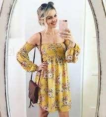 sunshine sun dress 50 shades of yellow ali fedotowsky