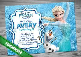 disney frozen birthday invitations wblqual com