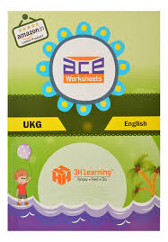 buy ace ukg kids all in one worksheets 304 pages kg 2 and