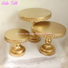 gold cake stands metal iron gold cake stand 8 10 12 wedding cake decorating