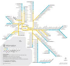 Metro Line Map by Melbourne U0027s Future Train Maps Compared To New York London And