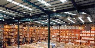 warehouse lighting layout calculator find out how many led high bay lights your warehouse needs