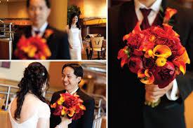 8 fall color wedding bouquet jpg