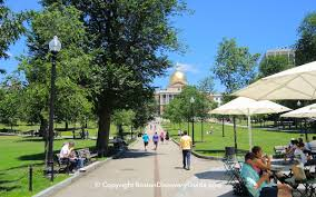 Map Of Boston Attractions by Boston Common Freedom Trail Site Boston Discovery Guide