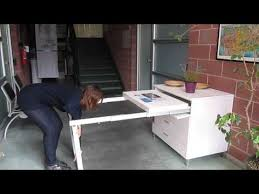 pull out table frame with legs 1450 series youtube office