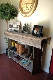 reclaimed wood entry table wood entry table console tables live edge entryway table console
