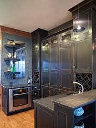 Black Distressed Kitchen Cabinets Photo Page Hgtv