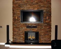stacked stone veneer easy wall panels fake fireplace arkansas