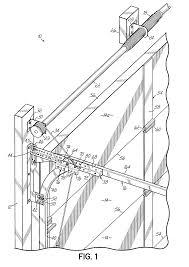 Richard Wilcox Barn Door Hardware by Patent Us7059379 Low Head Room Overhead Door System With