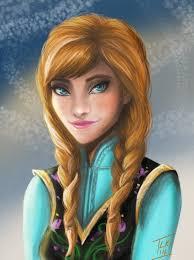 anna from frozen hairstyle anna frozen by lornakelleherart on deviantart
