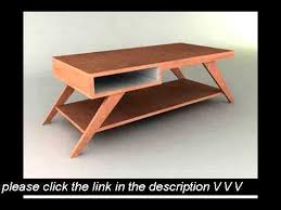 Free Woodworking Plans Coffee Tables by Cool Woodworking Plans Youtube