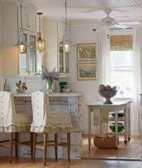 chic kitchen shabby chic kitchen with small bar and chairs and small island and