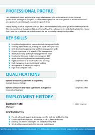 Sample Resume Key Qualifications by Examples Of Australian Resumes Resume For Your Job Application
