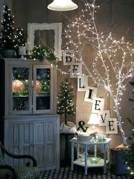 lighted trees home decor lighted tree decor lighted birch tree forest inch warm white lighted