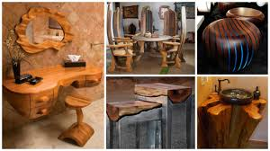 wooden interior furniture for authentic house look