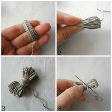 bow necklace diy images Little treasures yarn bow necklace diy jpg