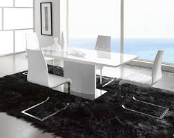 Dining Table Rug Modern Dining Table Designed In Minimalist Style With Chairs And