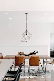 Contemporary Dining Table by Best 20 Leather Dining Room Chairs Ideas On Pinterest Modern