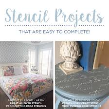 Easy Home Decorating Projects Stencil Projects That Are Easy To Complete Stencil Stories