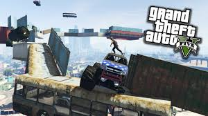 monster truck rompi palle gta 5