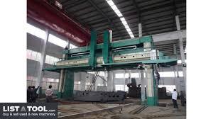 D F Ck 5280 Cnc Vertical Boring Mill Youtube