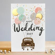happy wedding day happy wedding day card greetings card louise tiler tessera